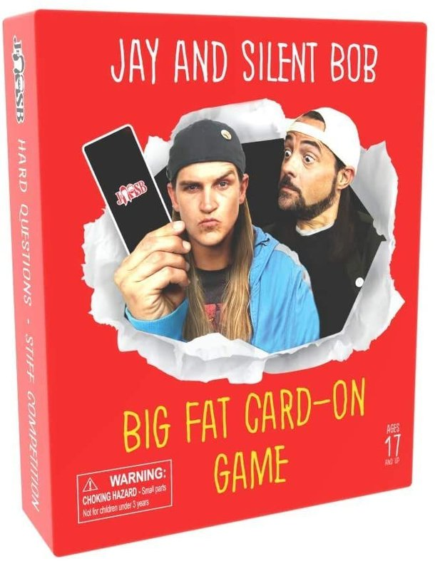 Jay and Silent Bob Big Fat Card-On Game