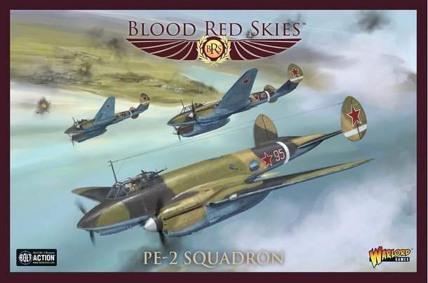 Blood Red Skies: Pe-2 Squadron