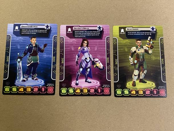 Tiny Epic Mechs: Man vs. Meeple Promo Cards