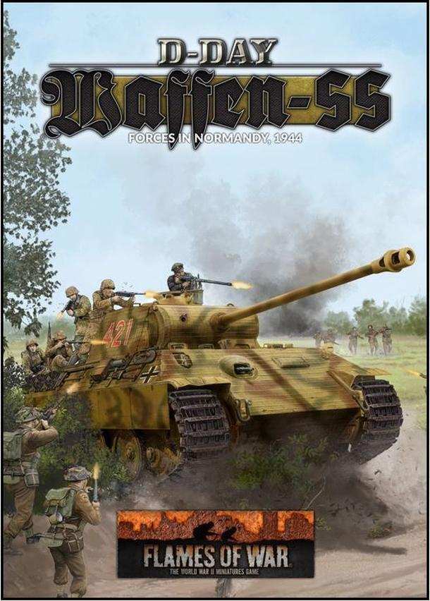 Flames of War: D-Day – Waffen-SS Forces in Normandy, 1944