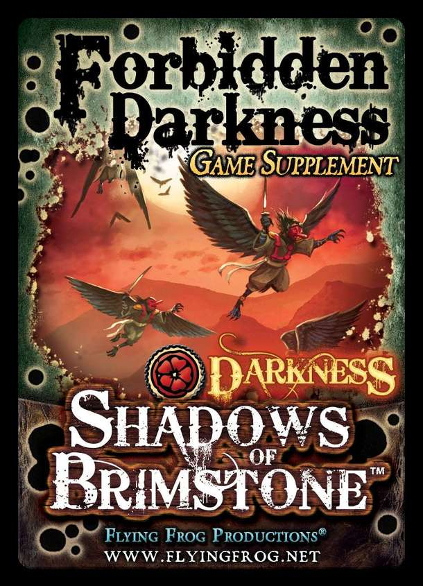 Shadows of Brimstone: Forbidden Fortress – Forbidden Darkness Supplement
