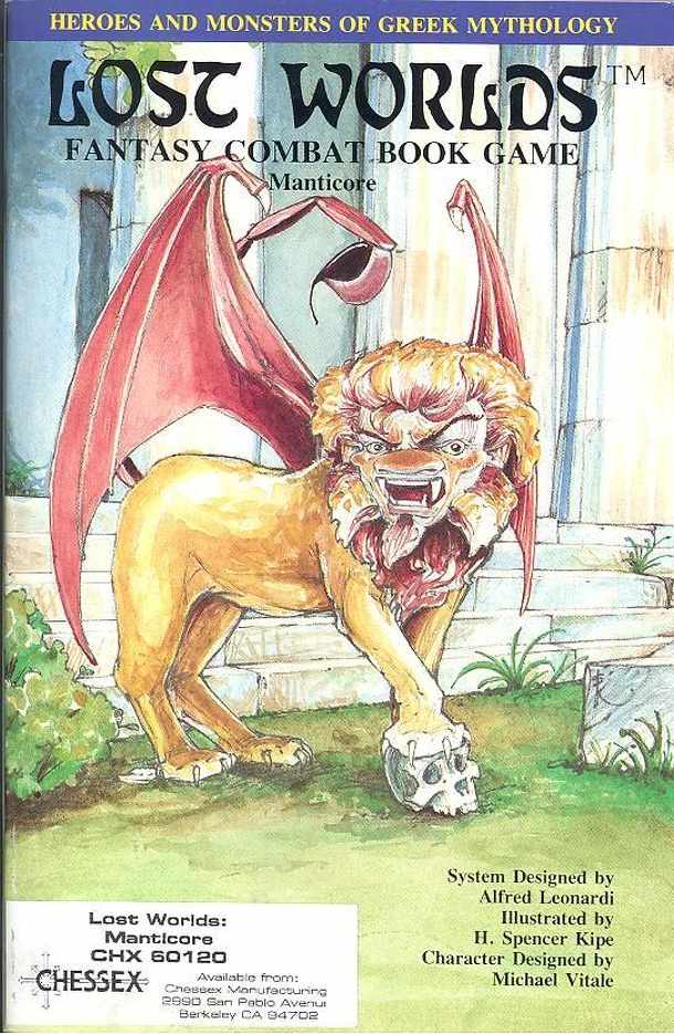 Lost Worlds: Manticore