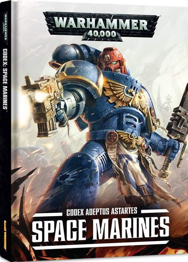 Warhammer 40,000 (Seventh Edition): Codex Adeptus Astartes – Space Marines