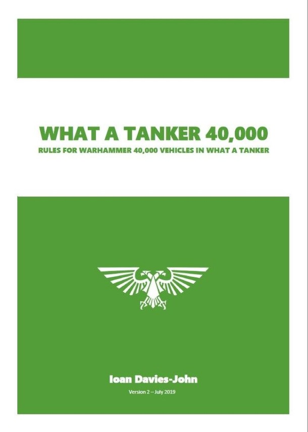 What a Tanker 40,000 (fan expansion for What a Tanker)