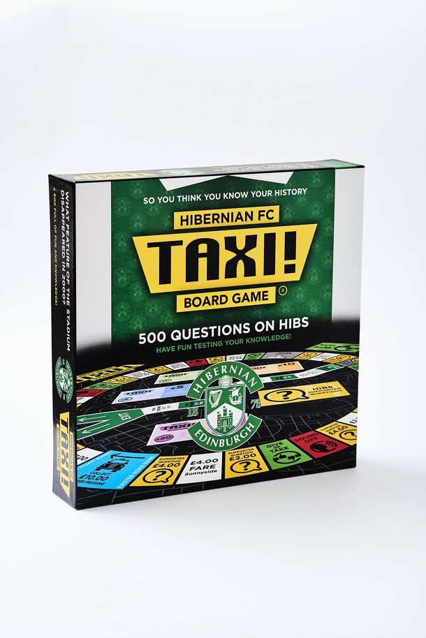 Taxi! Board Game: Hibernian FC