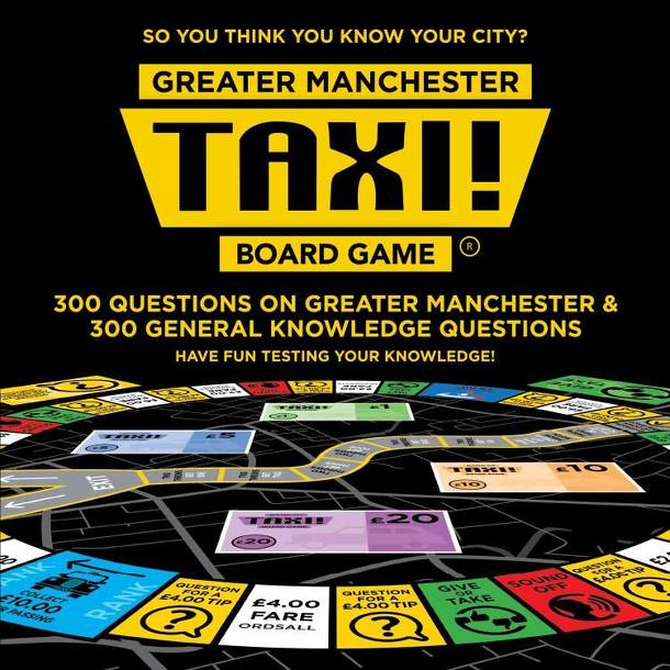 Taxi! Board Game: Great Manchester