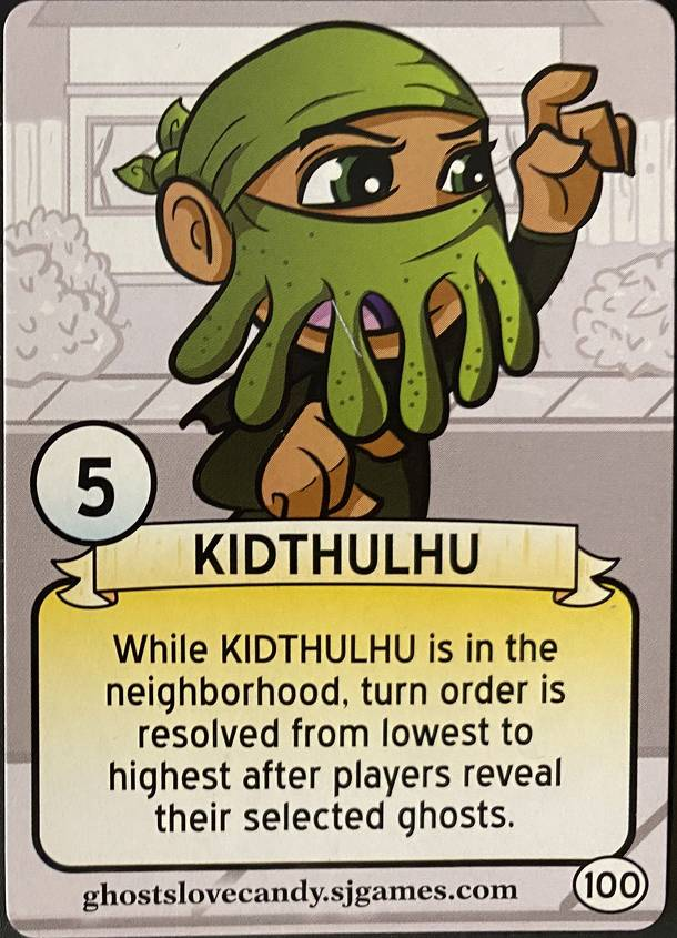 Ghosts Love Candy: Kidthulhu Promo