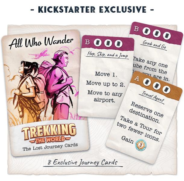 Trekking the World: All Who Wander – The Lost Journey Cards