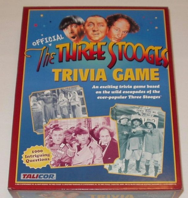 The Three Stooges Trivia Game
