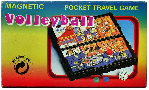 Magnetic Volleyball Pocket Travel Game