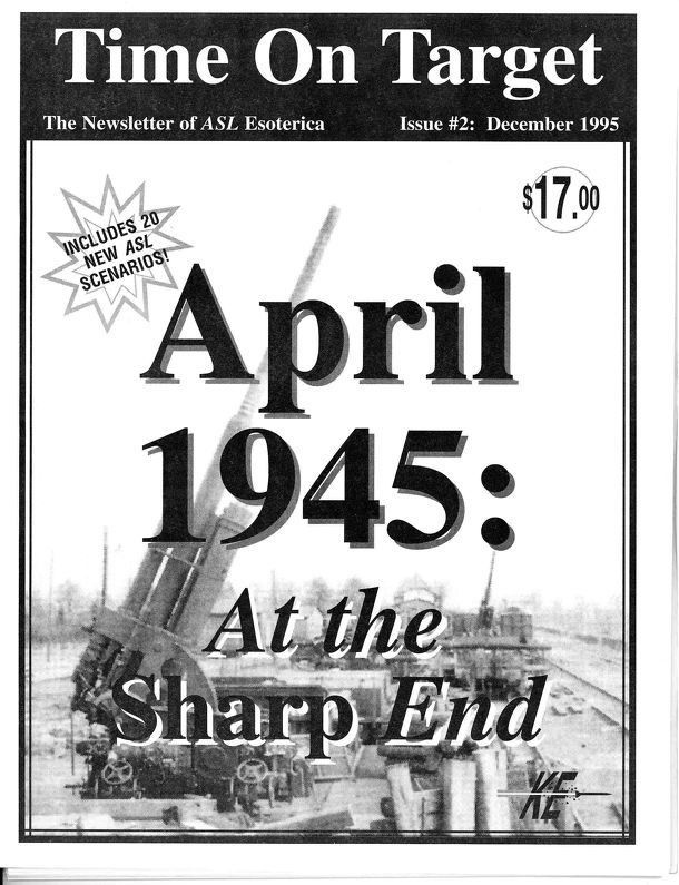 Time on Target: April 1945 – At The Sharp End