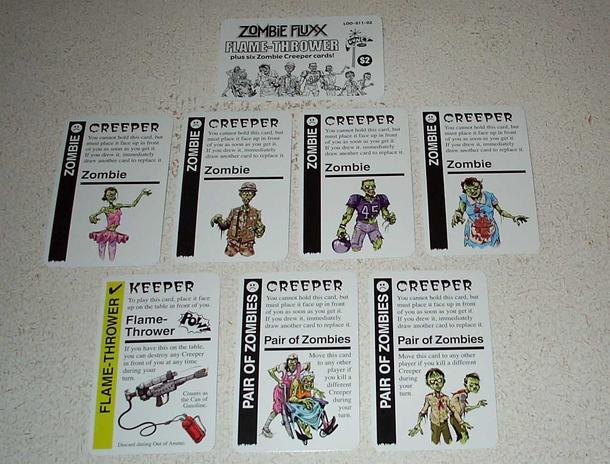 Zombie Fluxx Flame-Thrower Expansion Pack