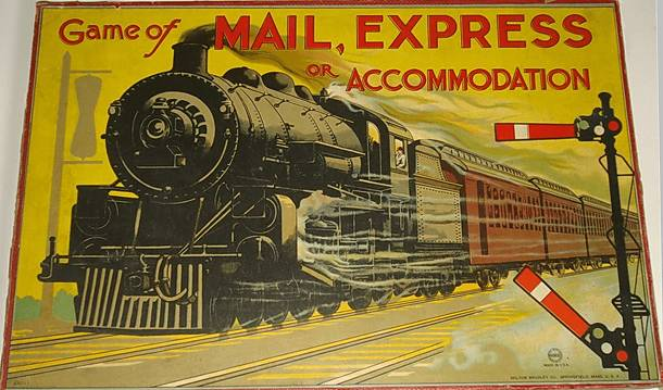 Game of By Mail, Express, or Accommodation Train; or Interstate Commerce