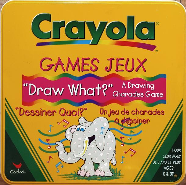 "Crayola ""Draw What?"""