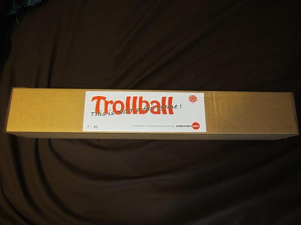 "Trollball ""this is not a fair game"""