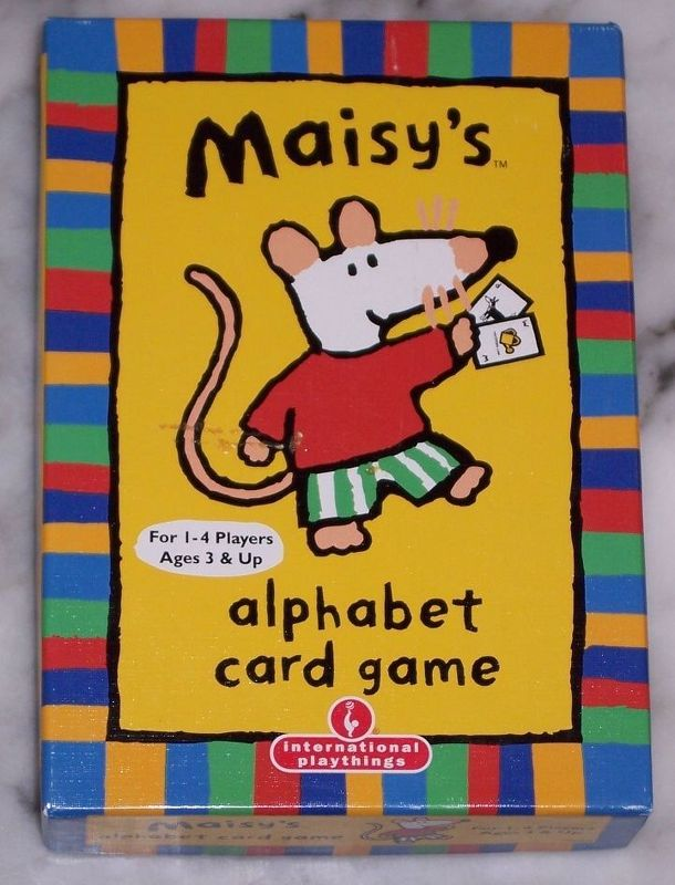 Maisy's alphabet card game