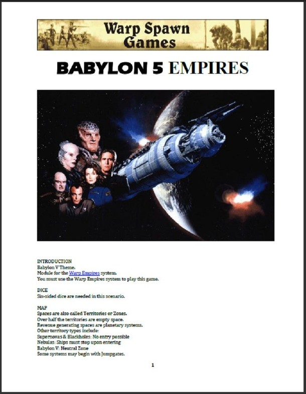 Babylon 5 Empires