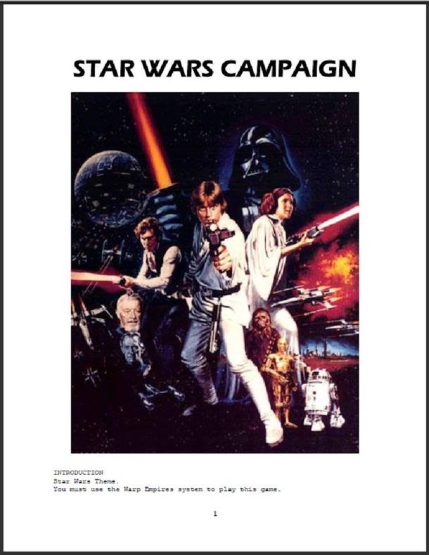 Star Wars Campaign