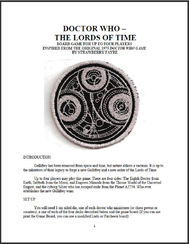 Doctor Who: The Lords of Time