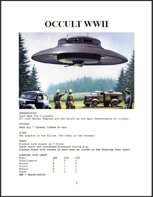Occult WWII
