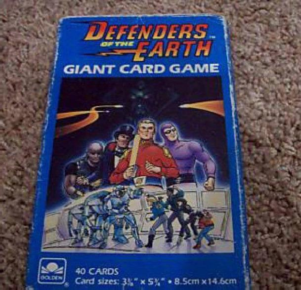 Defenders of the Earth Giant Card Game