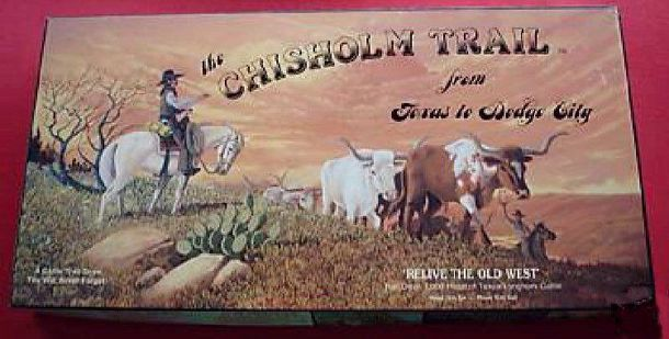 The Chisholm Trail from Texas to Dodge City