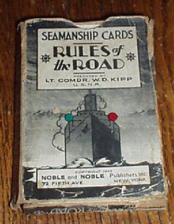 Rules of the Road: Seamanship Cards