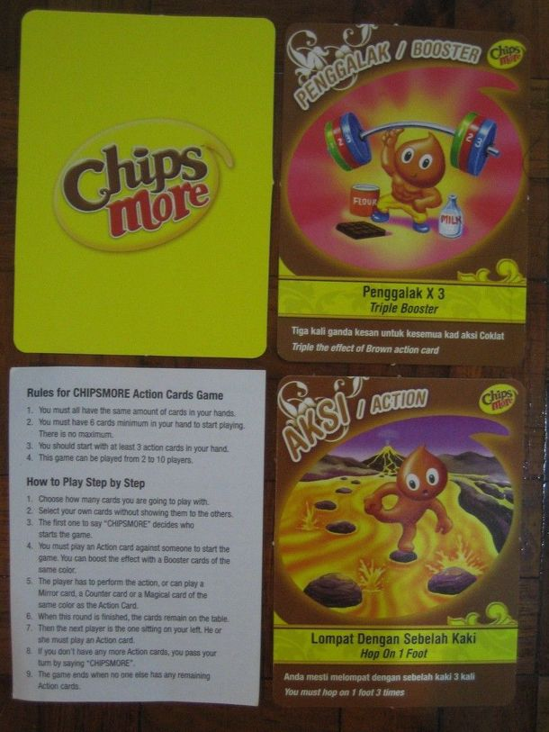 Chipsmore Action Cards Game