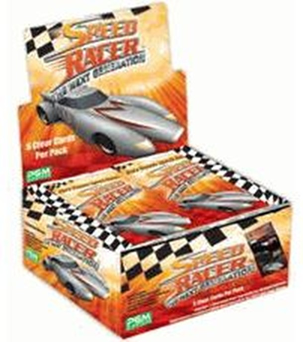 Speed Racer Collectable Card Game