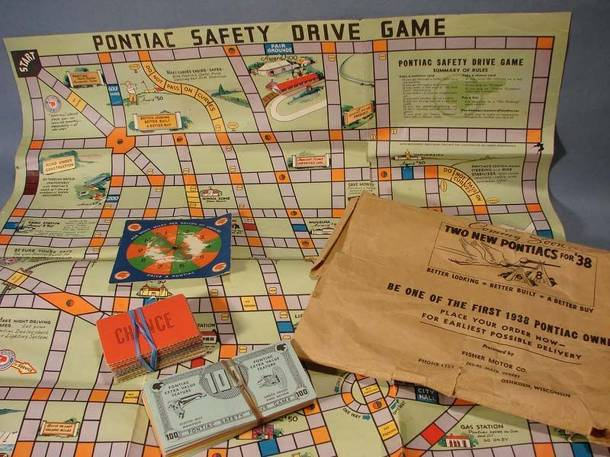 Pontiac Safety Drive Game