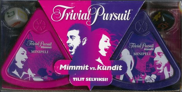 Trivial Pursuit: Girls vs Guys – Bite Size