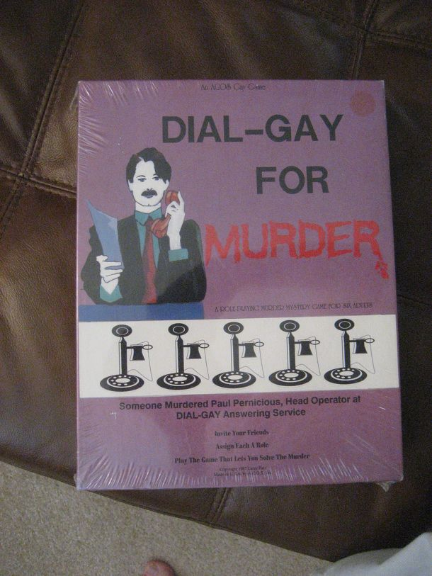 Dial-Gay for Murder