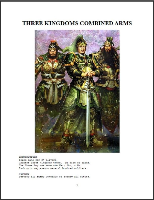 Three Kingdoms Combined Arms