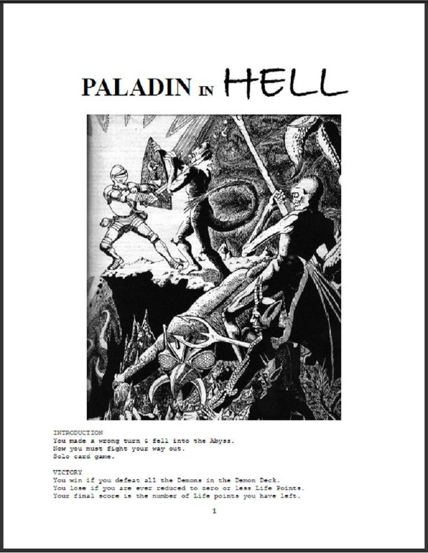 Paladin in Hell