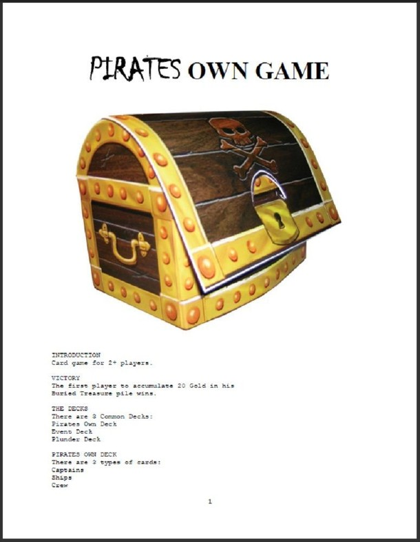 Pirates Own Game