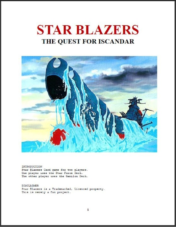 Star Blazers: The Quest for Isacandar