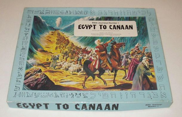 Bible Journeys Number 1: Egypt to Canaan