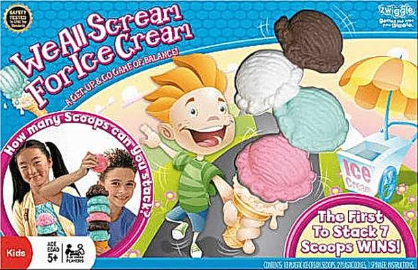 We All Scream for Ice Cream