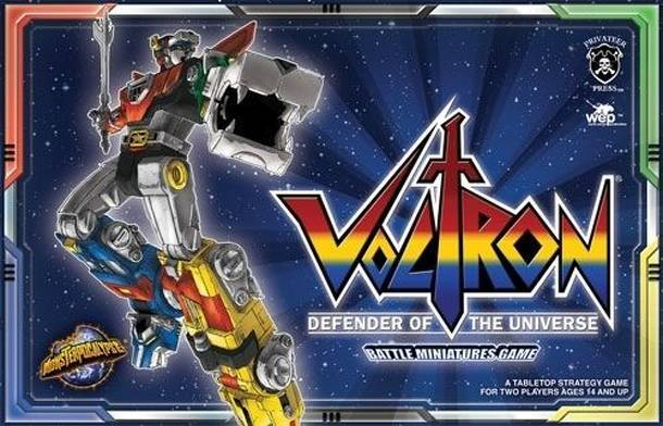 Monsterpocalypse: Voltron – Defender of the Universe Battle Game