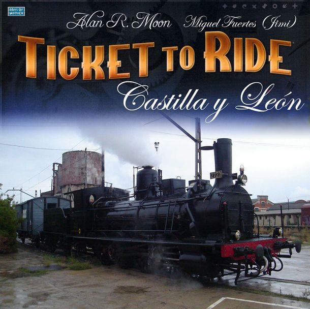 Castilla y León (fan expansion for Ticket to Ride)