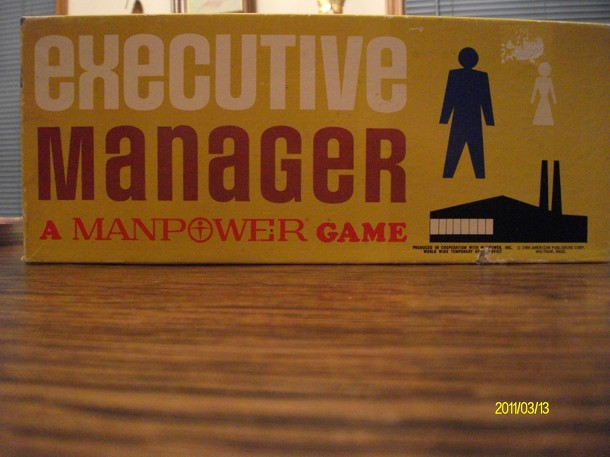 Executive Manager: A Manpower Game