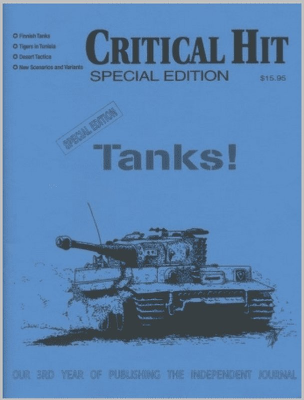 Critical Hit! Tanks Special Edition